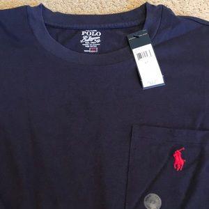 Polo by Ralph Lauren Shirts - Men's long sleeve Polo T-shirt